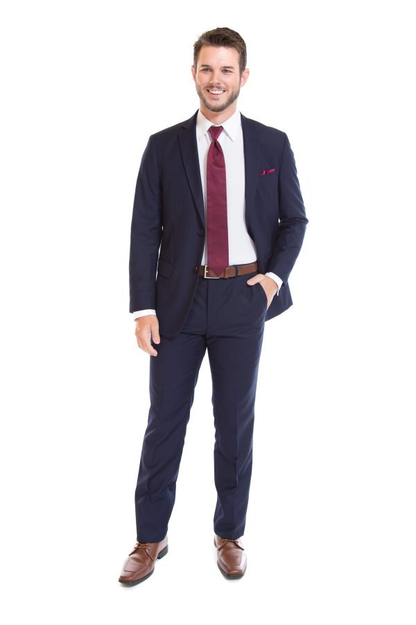 Navy Blue Suit by David Major Select image